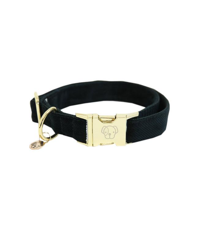 Kentucky Dogwear Halsband Corduroy - Donkergroen