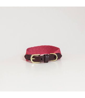 Kentucky Dogwear Halsband Jacquard - Roze