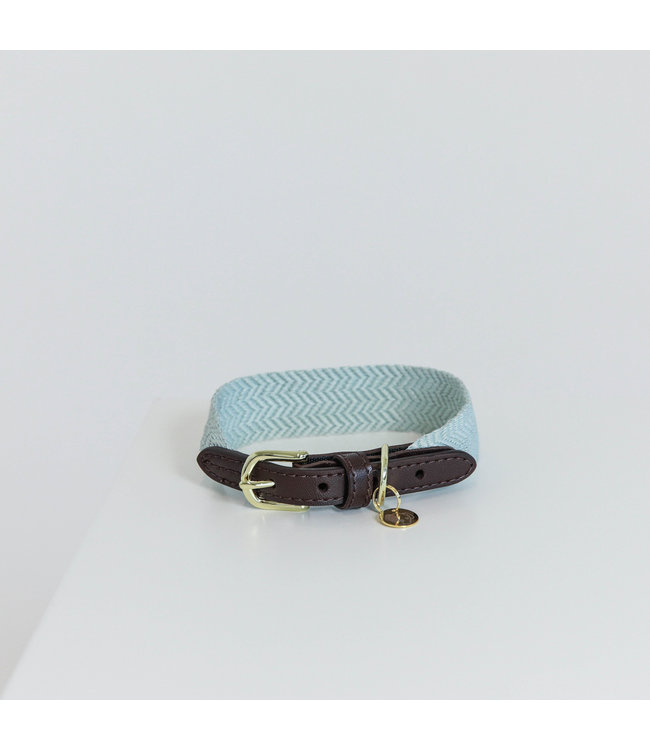 Kentucky Dogwear Halsband Jacquard - Lichtblauw