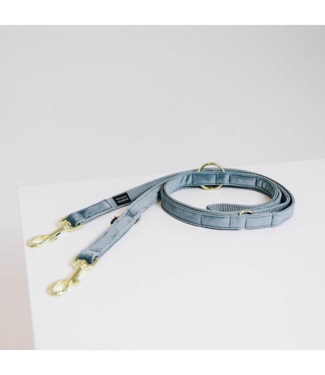 Kentucky Dogwear Leiband Velvet - Lichtblauw