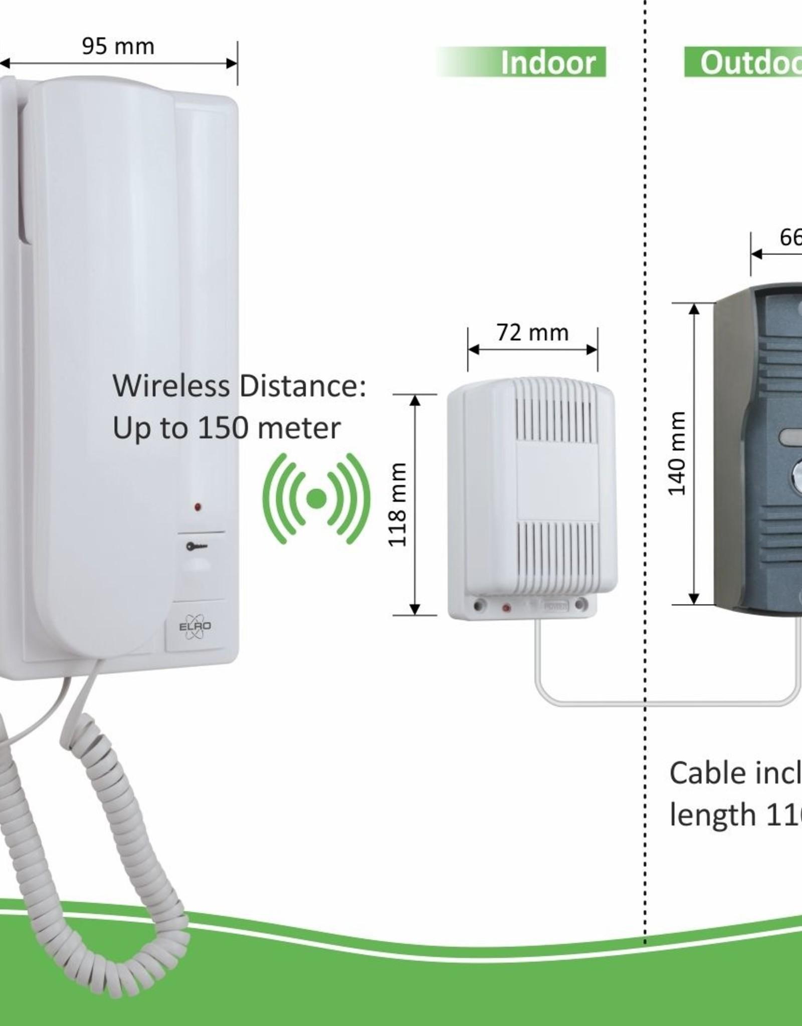 Elro Elro Draadloos Deur Intercom Systeem