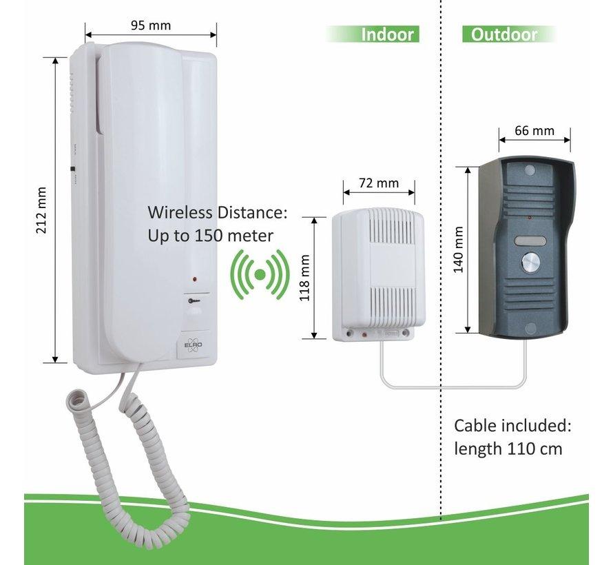 Elro Draadloos Deur Intercom Systeem