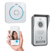 Elro Elro Video IP Deur Intercom Systeem met Applicatie en Draadloze Deurbel