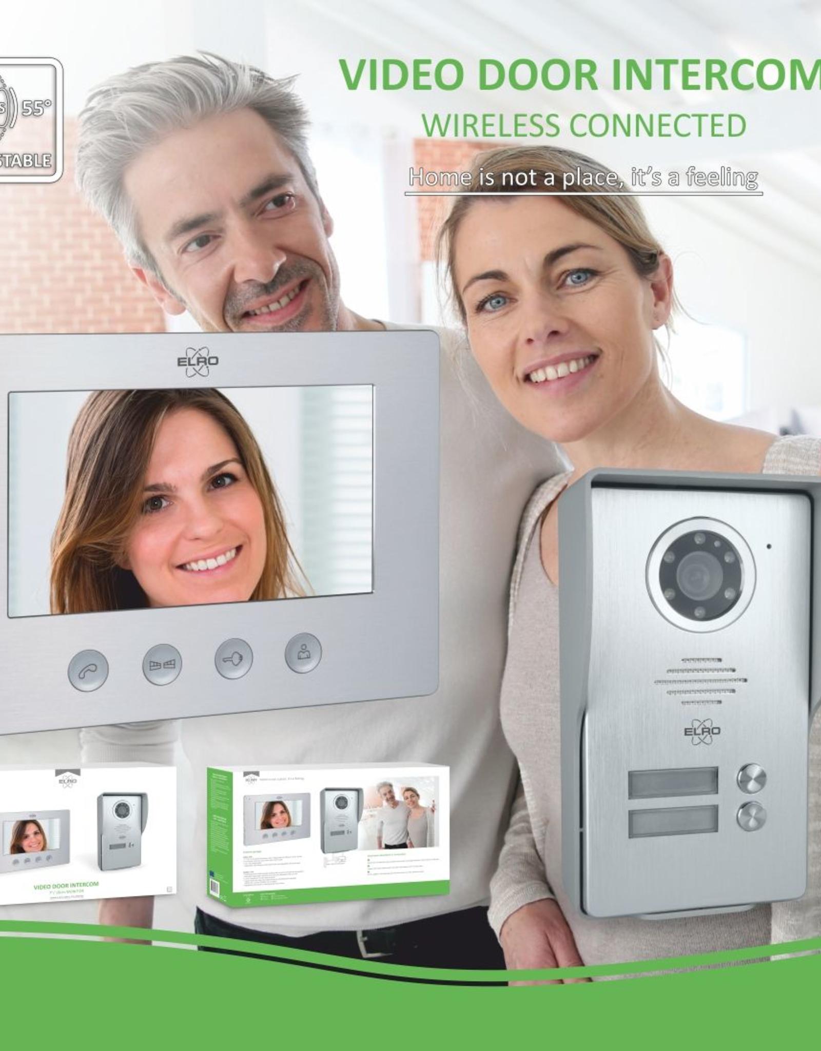 Elro Elro Color Night Vision Deur Intercom Systeem met Video (DV477W)