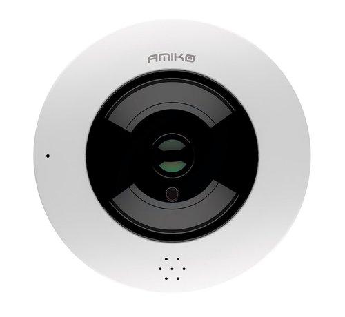 Amiko Amiko FE20A400 POE WiFi – Fisheye 360 Camera - 4MP Camera - Indoor - 2 Way Audio