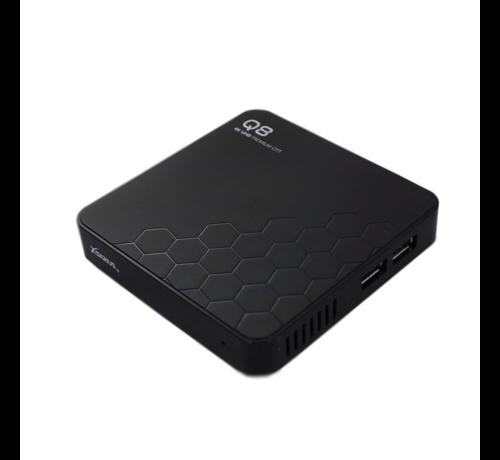 Xsarius Xsarius Q8 - 4K UHD - Premium OTT Media Streamer - Android 8.0 Oreo