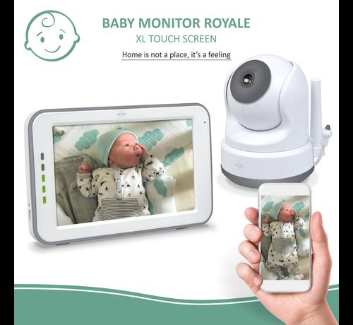 Elro Baby Monitor Royale HD Babyfoon met 12,7 cm touchscreen en app (BC3000)