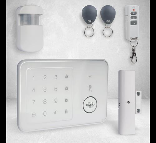 Elro Compleet ELRO Thuis Alarmsysteem – Met GSM Module en App (AG4000)