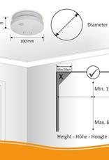 Elro Rookmelder met 10 Jaar Batterij en Magneet Montage - 2 Pack