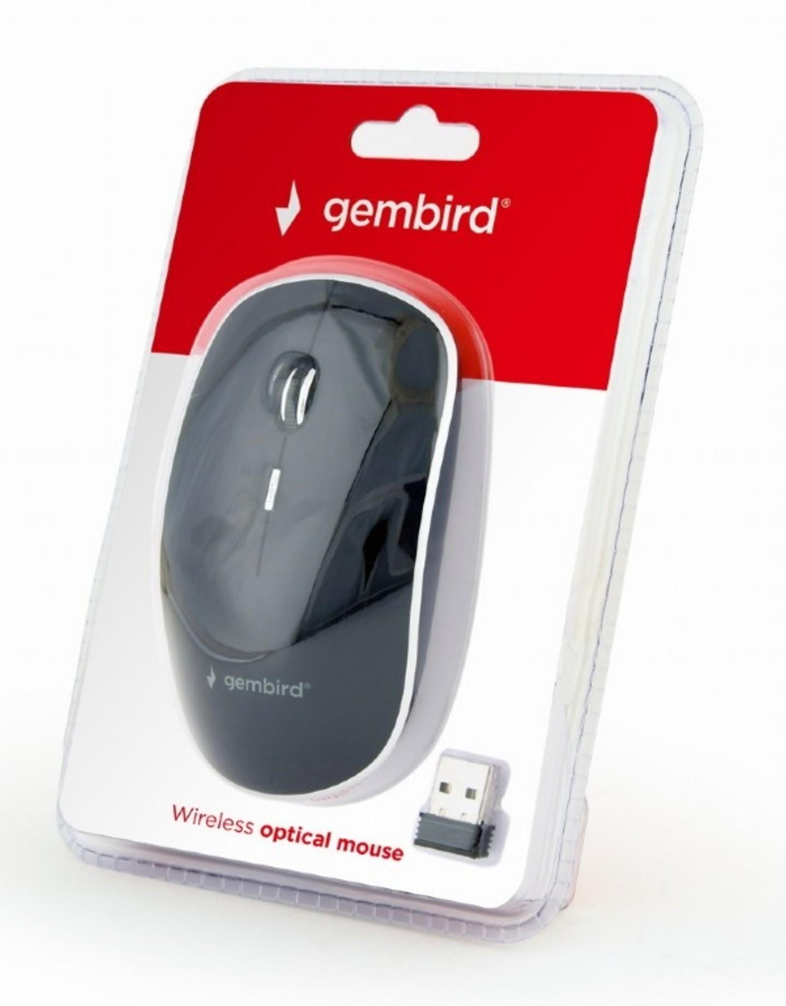 Gembird Draadloze muis zwart