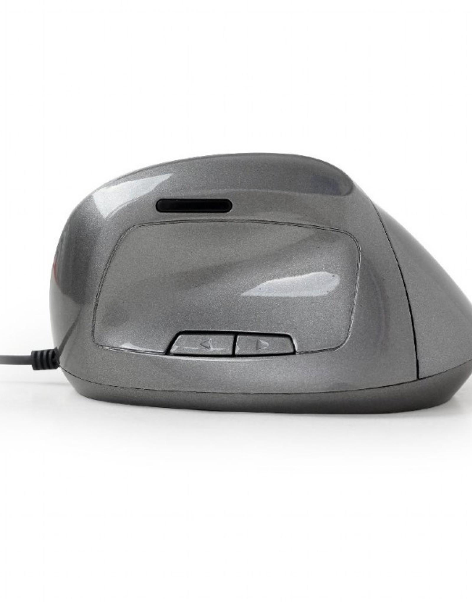 Gembird Ergonomische muis Space Grey