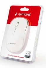 Gembird Draadloze muis wit