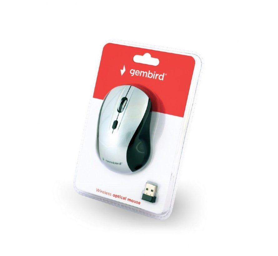 Draadloze muis zwart/zilver