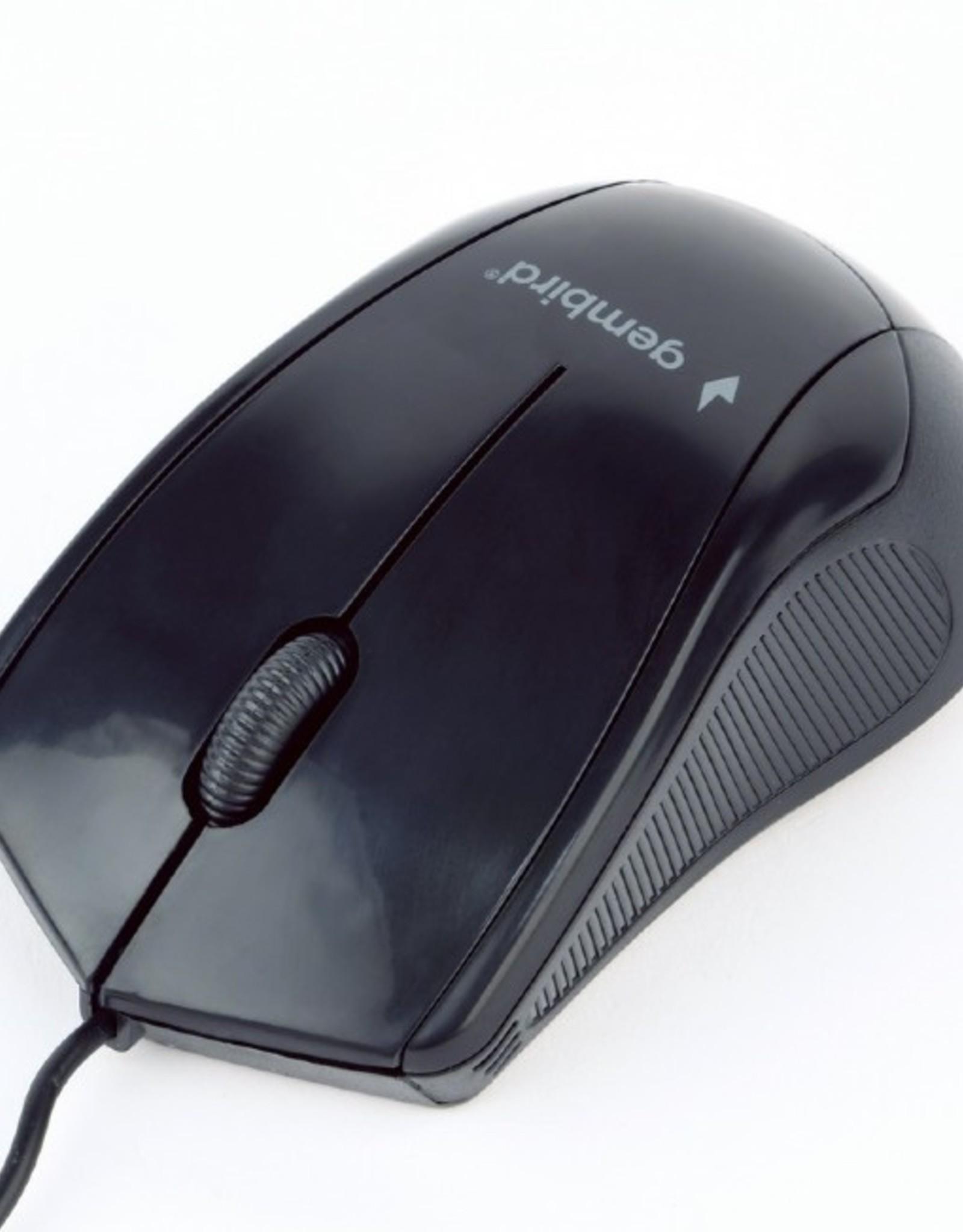 Gembird Optische muis USB zwart B2