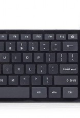 Gembird Slimline zwart toetsenbord USB