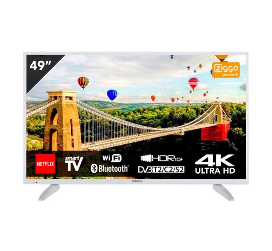 """Hitachi 49HK6003W 49"""" - UHD LED TV met SMART - WiFi en Bluetooth"""