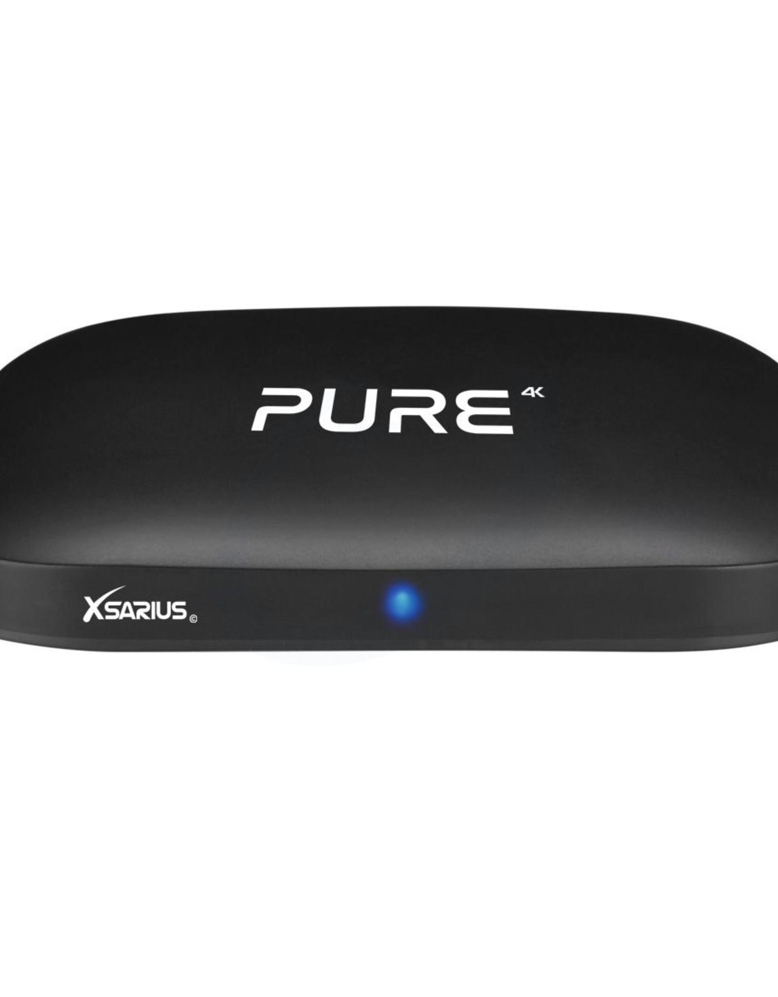 Xsarius Xsarius PURE 4K OTT - H.265 - Android 7.1 - Premium Box
