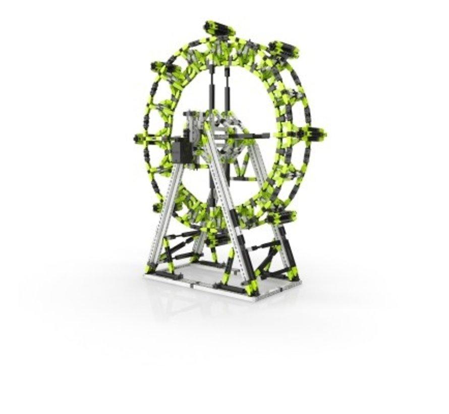 STEM AMUSEMENT PARK SET: London Eye and Ferris Wheel