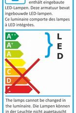 Elro Design LED Buitenlamp met Bewegingsmelder 10 Watt - Wit
