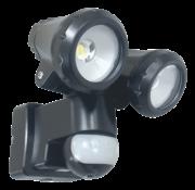 Elro 2-Kops LED Buitenlamp met Bewegingsmelder 2 x5W