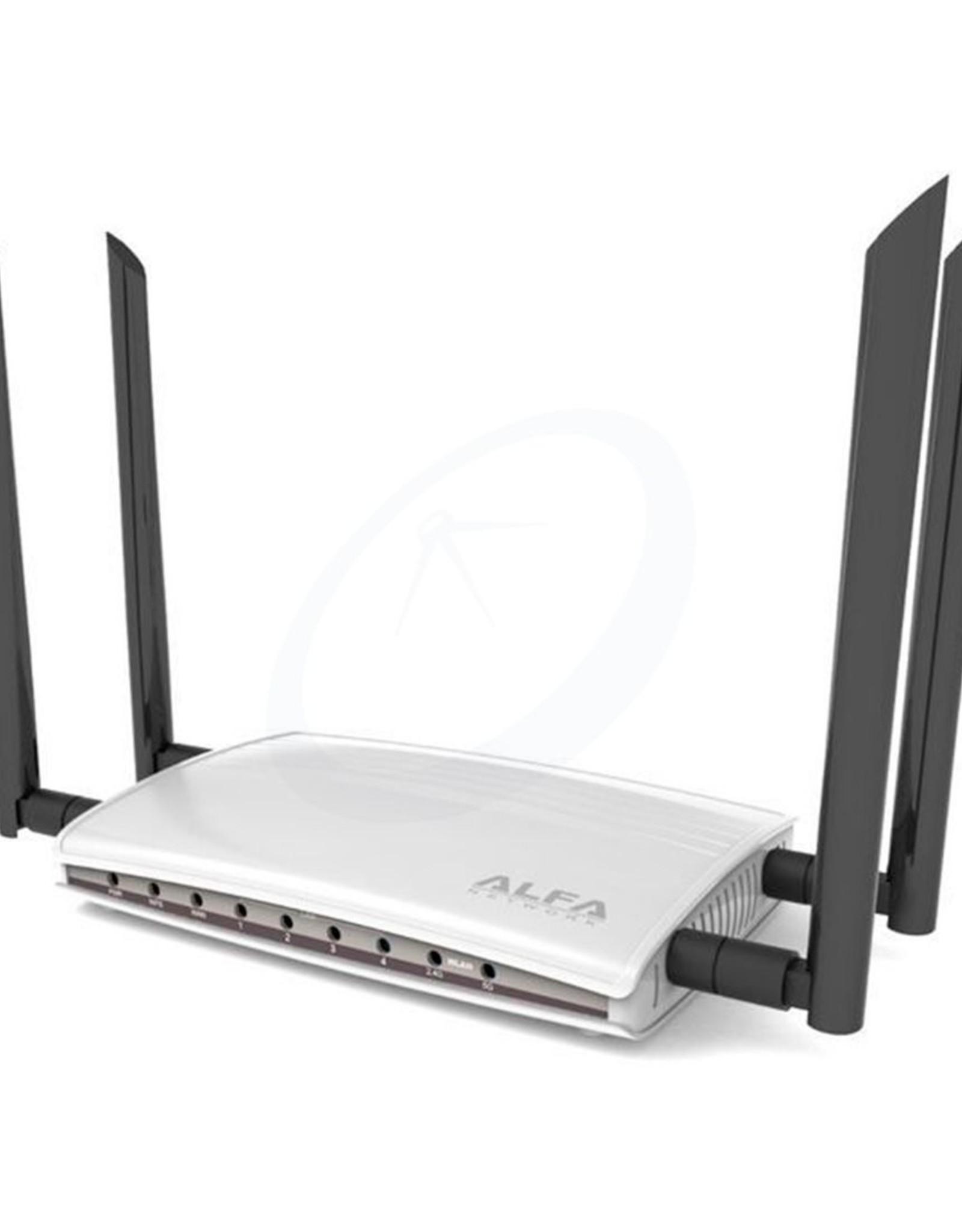 Alfa Network - AC1200R - WiFi Router - Wide Range - High Gain