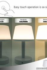 Nachtlamp LED 3 in 1 sfeerlicht, Dimbaar, 7 verschillende sfeerkleuren, Bluetooth speaker