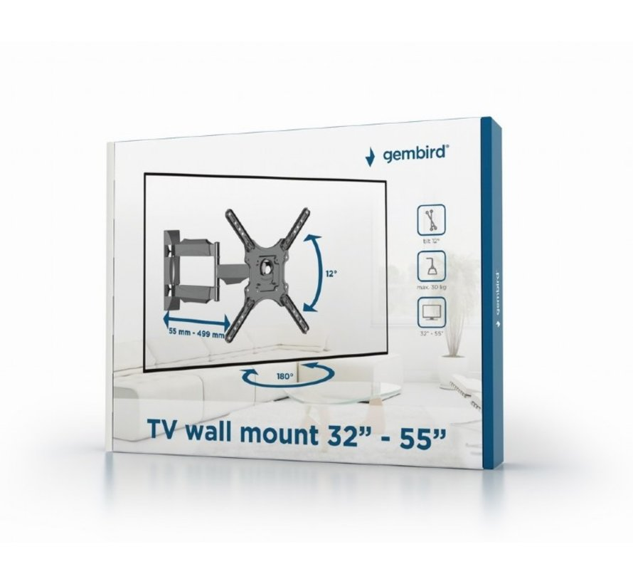 "TV muurbeugel 32""-55""max. 30kg"
