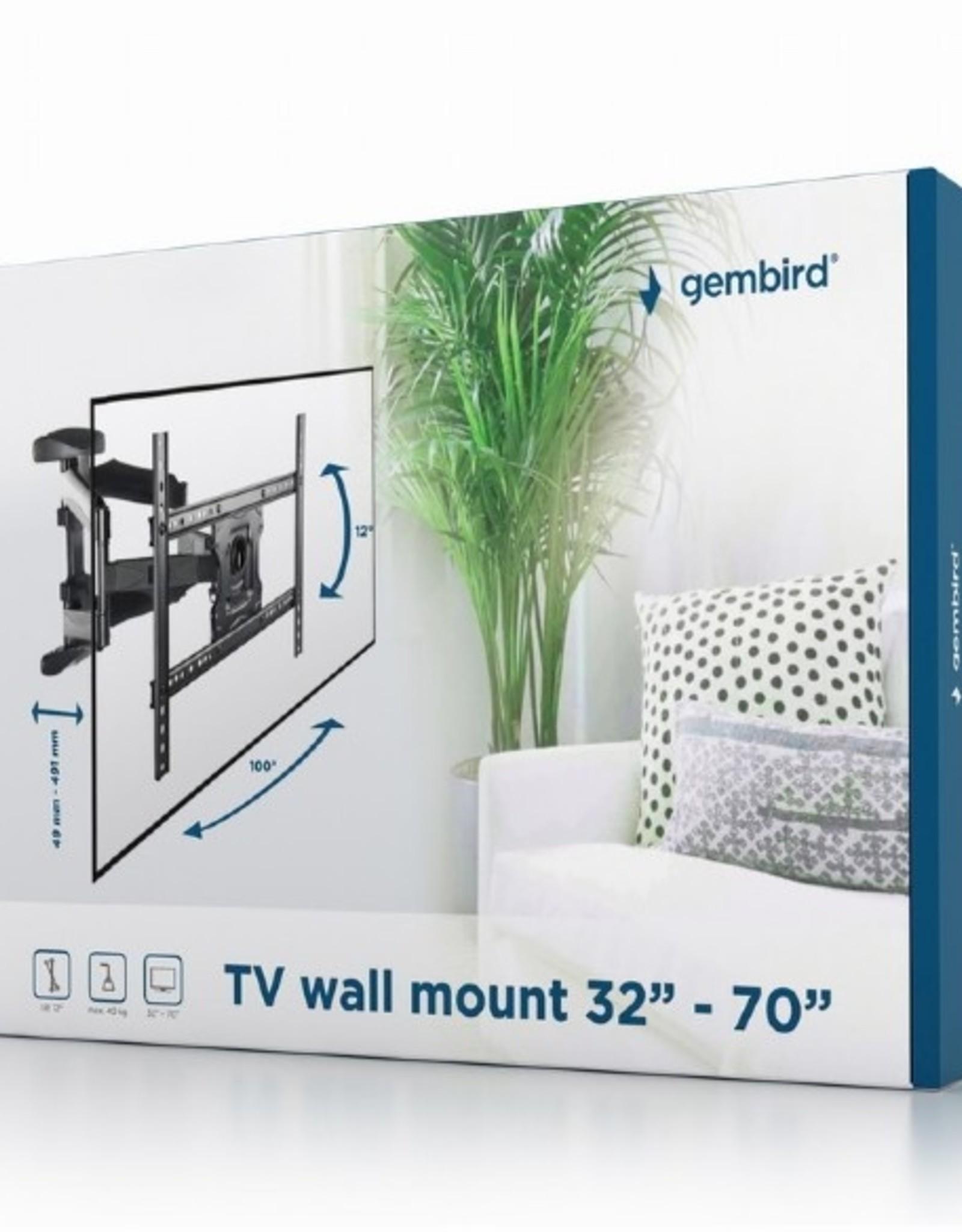 """Gembird TV muurbeugel 26""""-70"""" max. 40kg"""