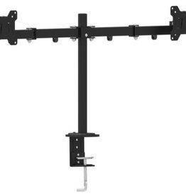 "Gembird Dubbele monitorarm voor bureau-montage, 13""-27"""