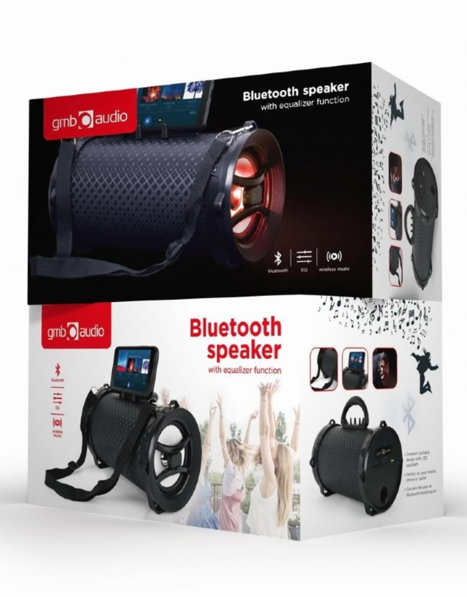 """GMB-Audio Bluetooth """"Boombox"""" luidspreker met Equalizerfunctie"""