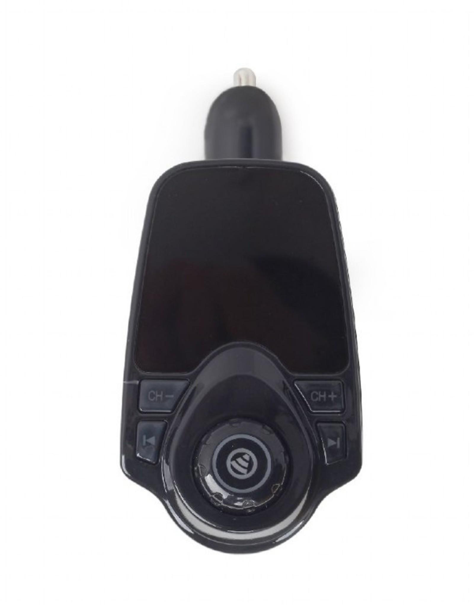 Gembird      Bluetooth carkit met FM transmitter, zwart