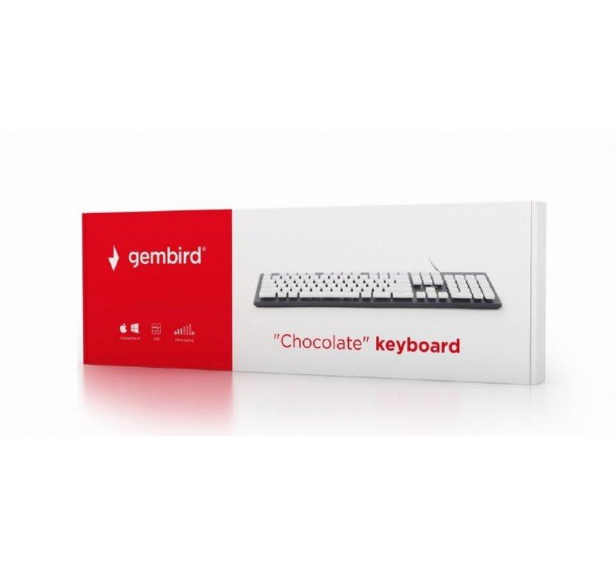 """Standaard """"chocolate"""" toetsenbord USB"""