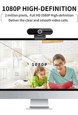 Riffaa. Webcam Full HD | Webcam Voor onder ander PC en Laptop | Camera + Opname mogelijkheid op pc | Webcam met Cover | Webcam met Microfoon Ruisonderdrukking | Webcam met USB | Webcams | Inclusief Statief | Plug and Play