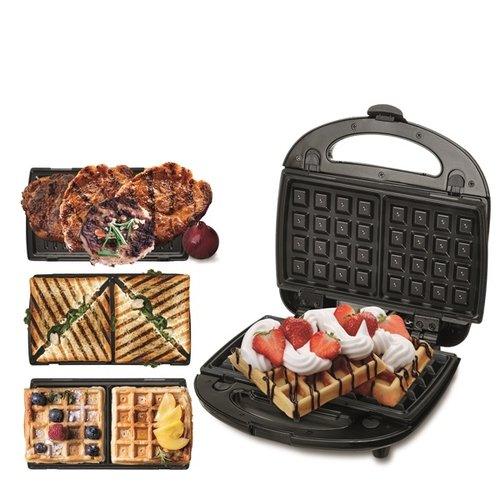 Camry CR3024 - Grill, sandwich en wafelmaker - 3in1
