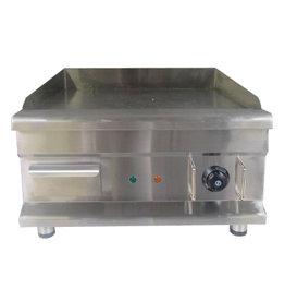 Q-Gastro Elektrische Chromen Bakplaat (NIEUW) 230V 50x52cm