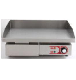 Q-Gastro Elektro-Grillplatte aus Stahl (Neu) 230V