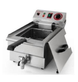 Q-Gastro 1 Pfanne elektrische Friteuse 1x 10L (neu) 400V