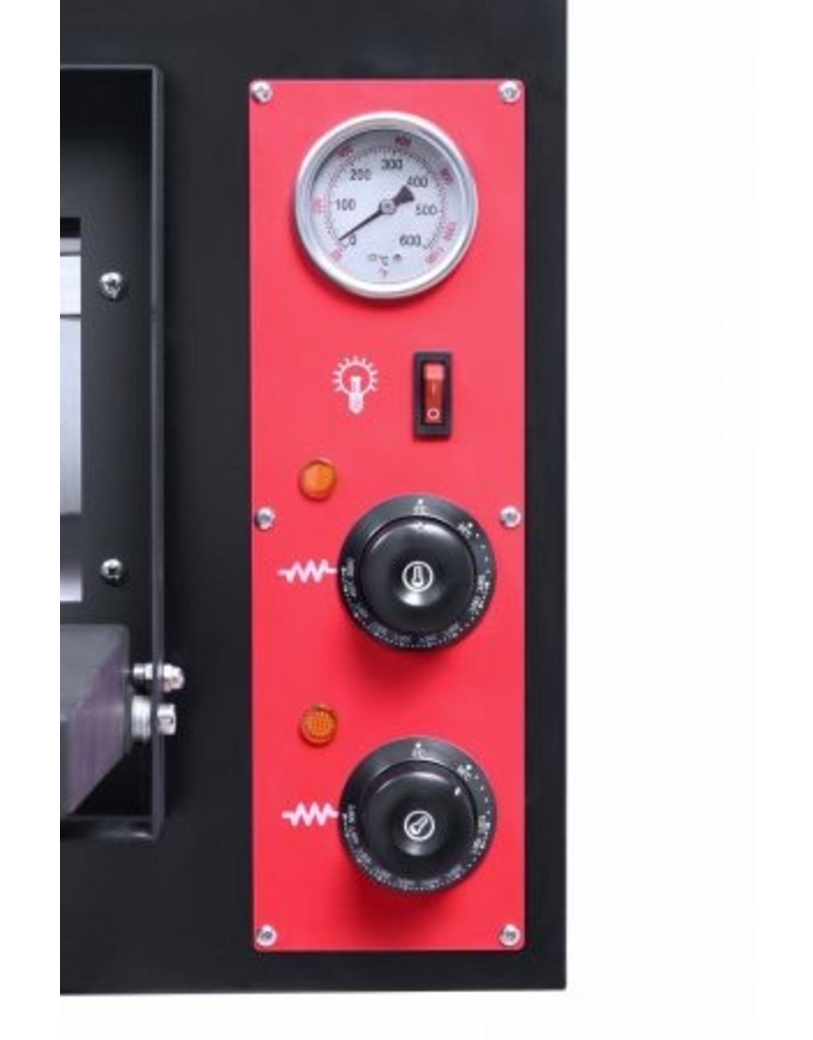 Q-Gastro ELEKTRISCHE PIZZA OVEN 2X 4 PIZZA'S 400V