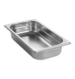 Q-Gastro Gastronormbehälter Edelstahl 1/3 GN | 65mm | 325x176mm