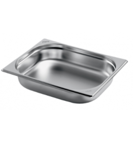 Q-Gastro Gastronorm Bak RVS 1/2 GN | 100mm | 325x265mm