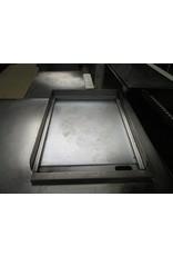 RVS Edelstahl-Arbeitstisch mit eingebauter Spiegelplatte 380V