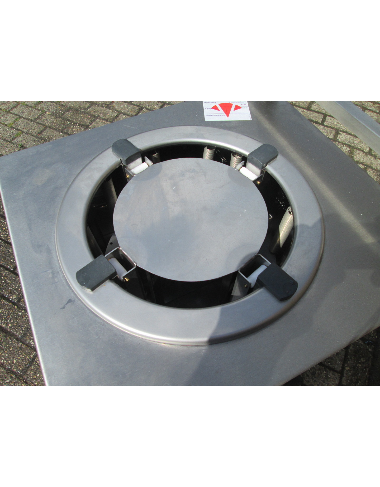 Metos Metos Tellerwärmer auf Rädern 230V