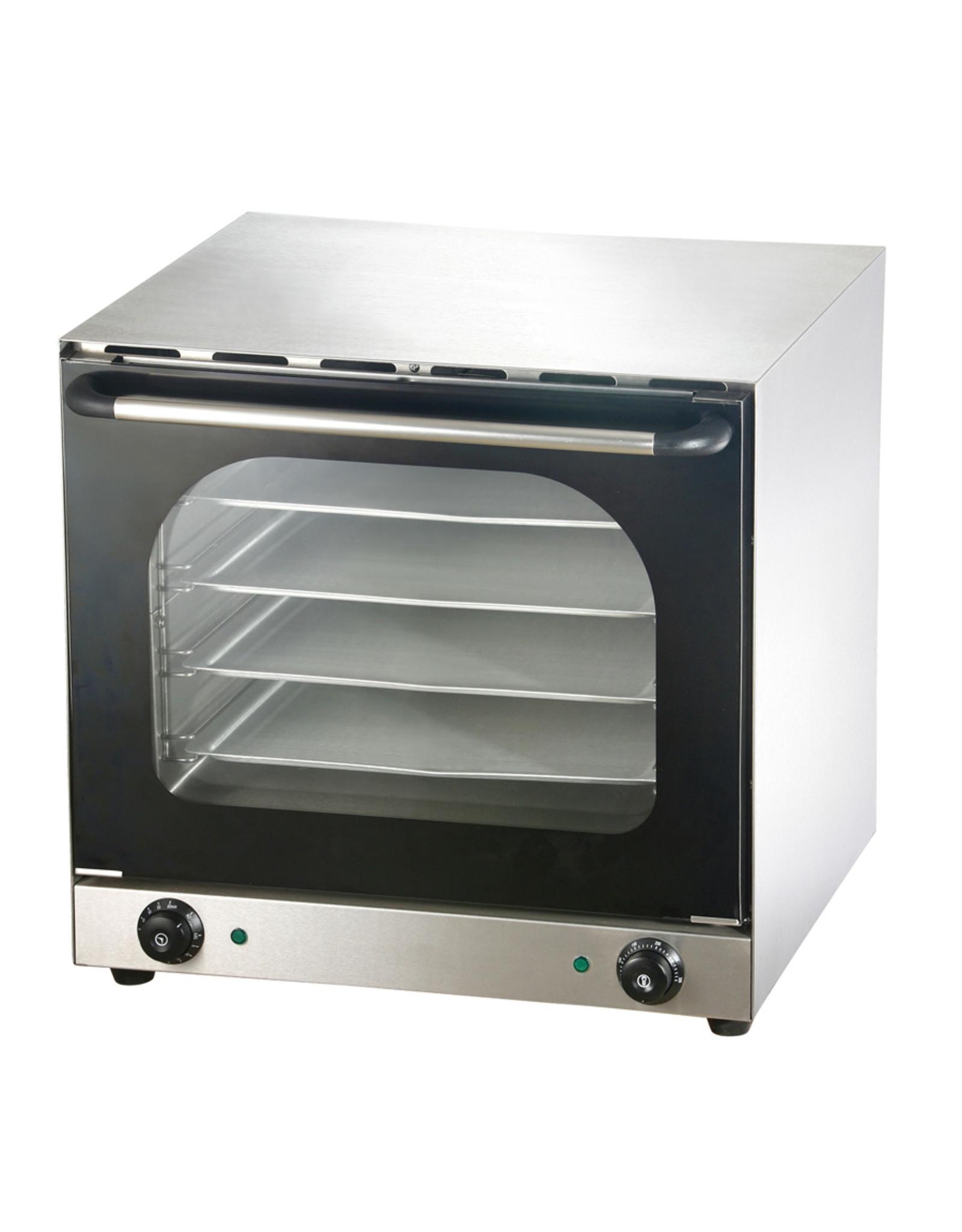 Q-Gastro Hetelucht oven 230V (Nieuw!!)