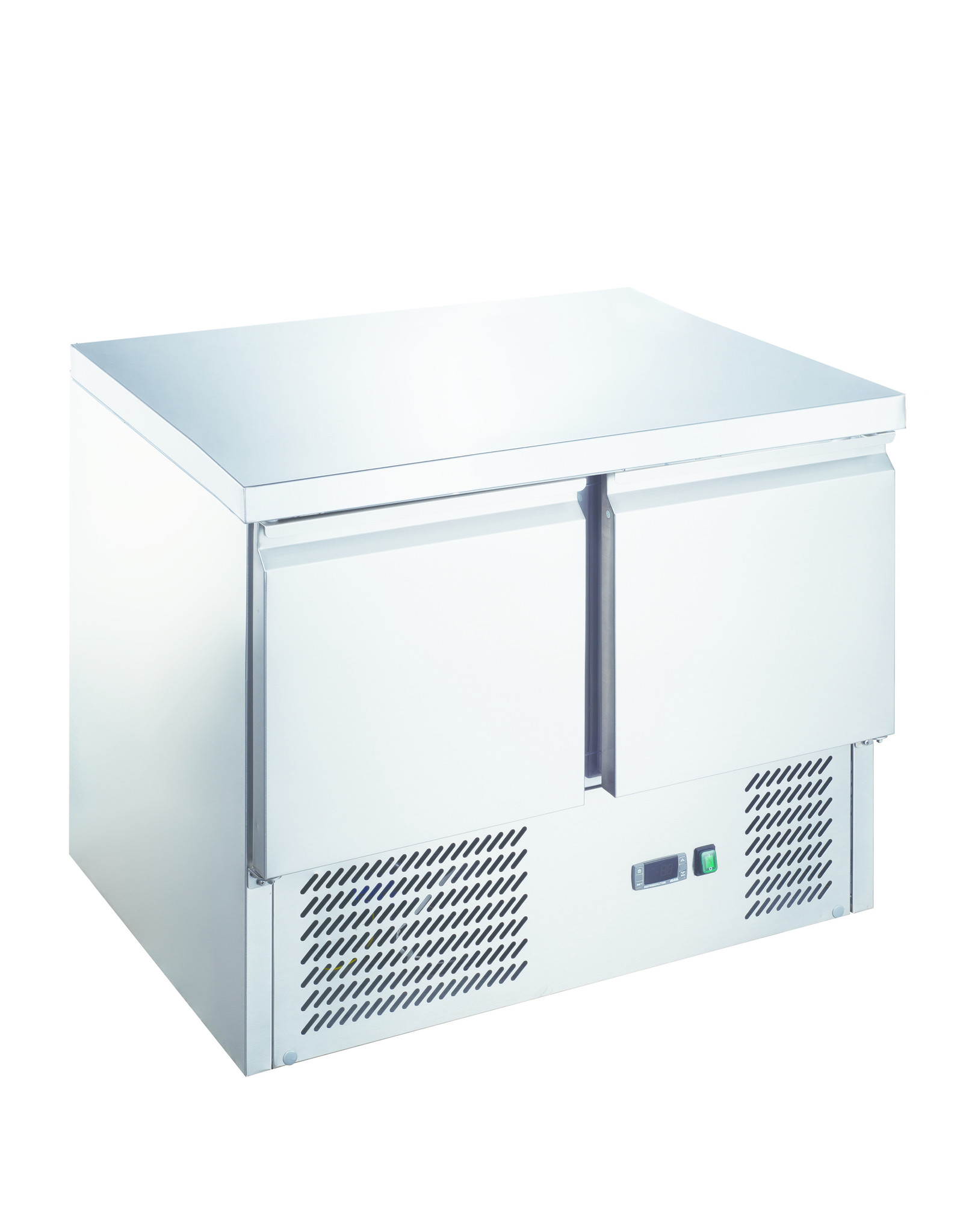 Q-Gastro Q-Gastro RVS Koelwerkbank 2 deurs (Nieuw!!)