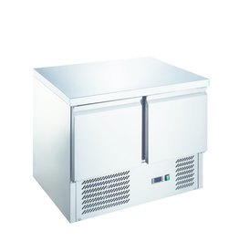 Q-Gastro Q-Gastro RVS Kühlwerkbank 2 Türen (Neu !!)