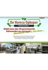 De Horeca Opkoper Immer> 40 renovierte Backwände auf Lager !!