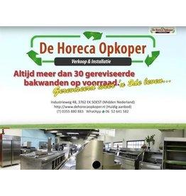 De Horeca Opkoper Altijd >40 gereviseerde bakwanden op voorraad!!