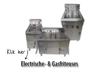 Elektro- und Gasfriteusen