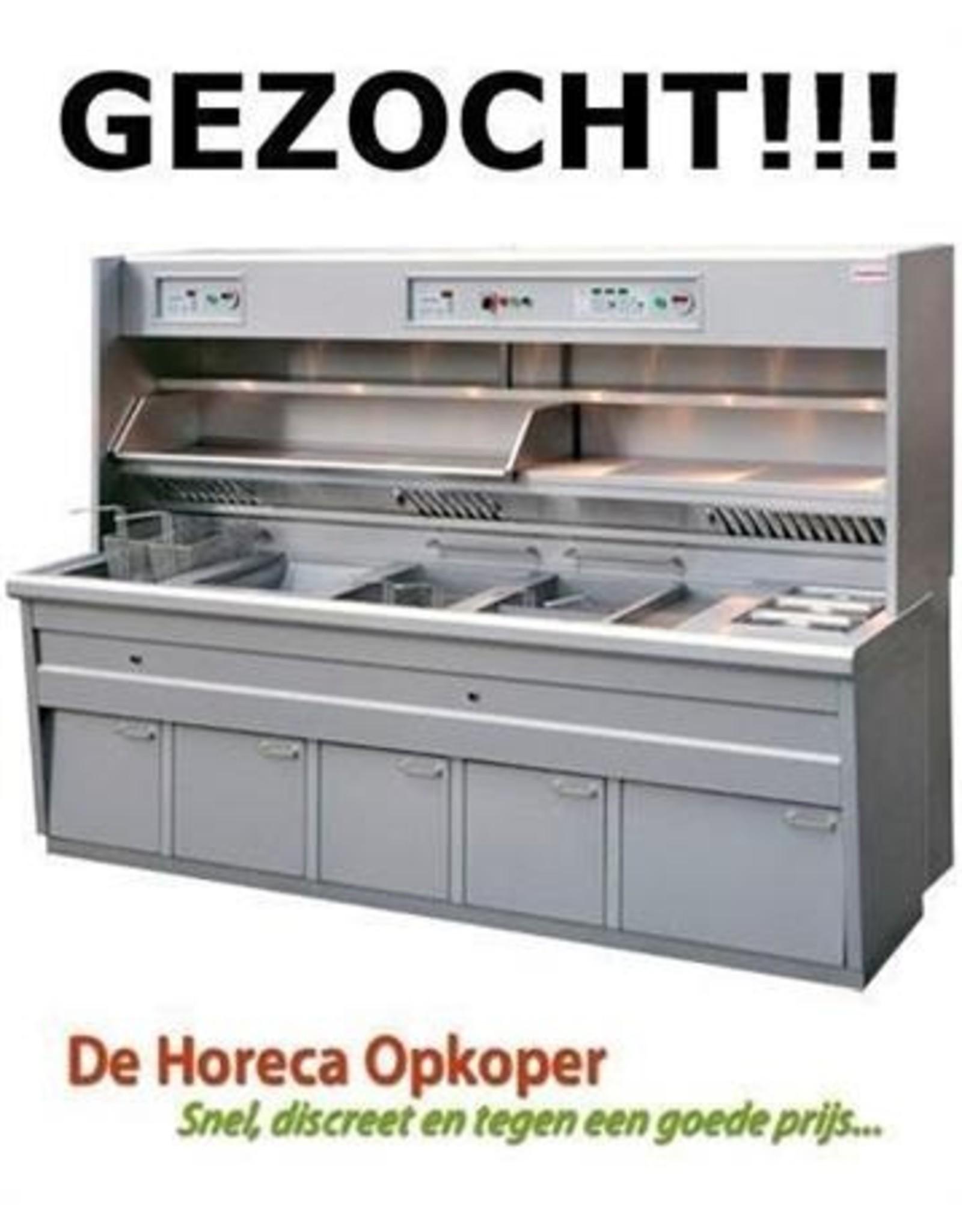 Kiremko-Perfecta-Florigo-Hewigo-Hegro-Hoblo-De Kuiper-Frymaster-Pitco GEZOCHT : Bakwand , friteuse Kiremko , Perfecta , Florigo etc..