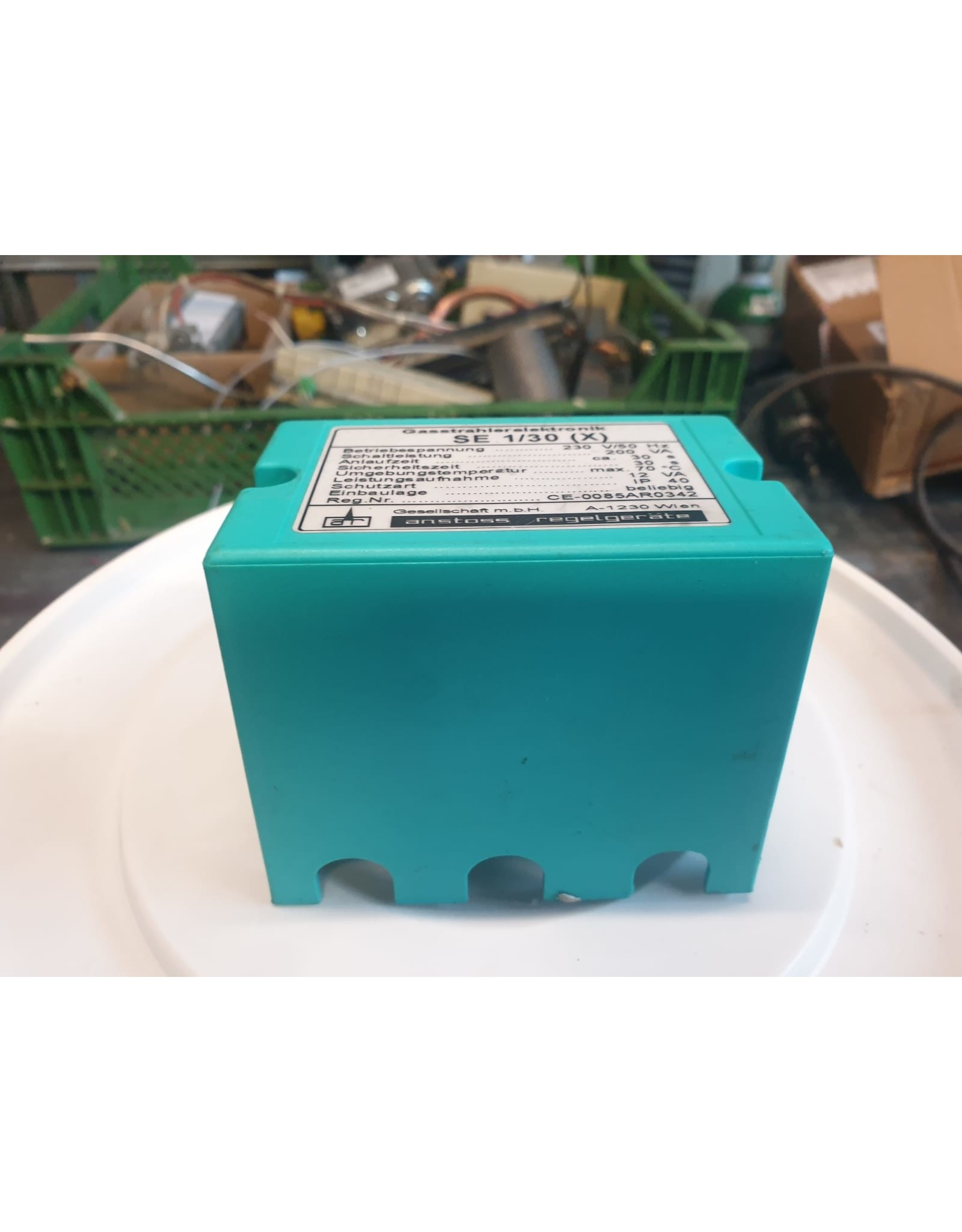 Anstoss Funkenzündung Controller Box